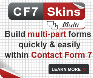 Build multi-part forms quickly and easily within Contact Form 7