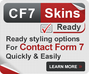 Quick & Easy Ready styling options for Contact Form 7 forms