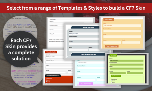 Users can simply select from a range of Templates & Styles