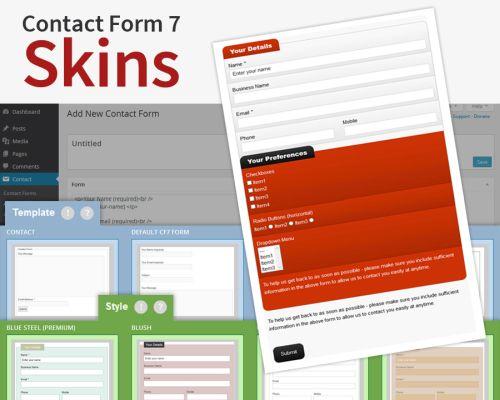 CF7 Skins Pro